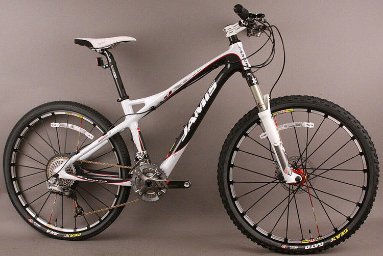 Carbon Fiber Mountain Bike >> Jamis Dakota Dxc Team Carbon Mountain Bike Sram Xx Rockshox Sid World Cup Fork