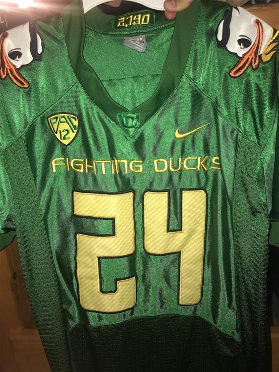 super popular ea6d2 4d50f Oregon Ducks Fighting Ducks Jersey