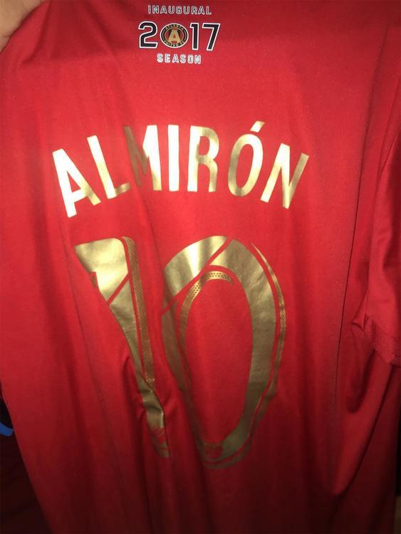 quality design 36716 0afbd Atlanta United Miguel Almiron Inaugural Season