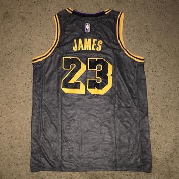 f3b5534e7d2 Nike Lebron James Los Angeles Lakers Jersey