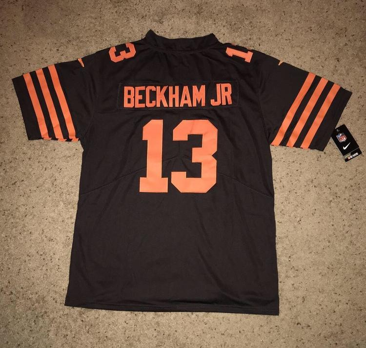 new styles 70c16 a866b Odell Beckham Jr. Cleveland Browns Nike Color Rush Jersey