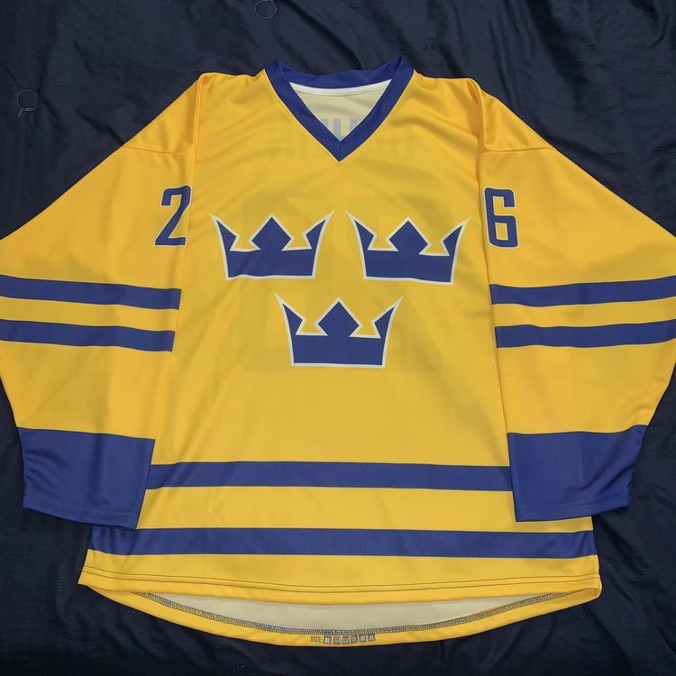 new arrivals 938e4 39b64 Rasmus Dahlin Team Sweden Jersey - Buffalo Sabres