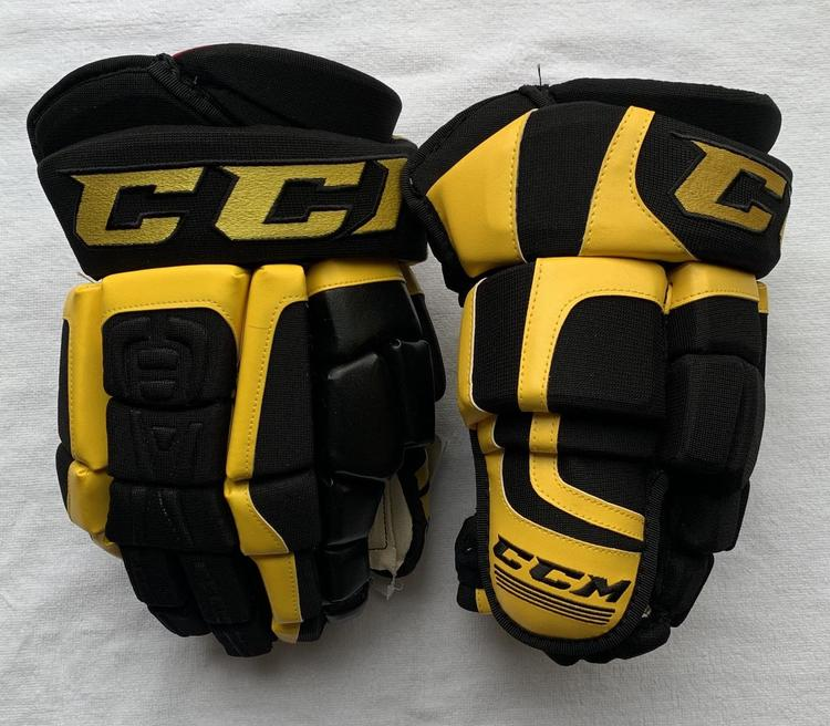 Black And Yellow Hockey Gloves - Images Gloves and
