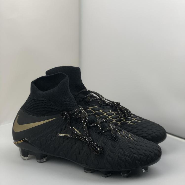 9def649ce Nike Hypervenom Phantom III Elite DF FG Soccer Cleats AJ 3803-090 Mns 6.5  Wms