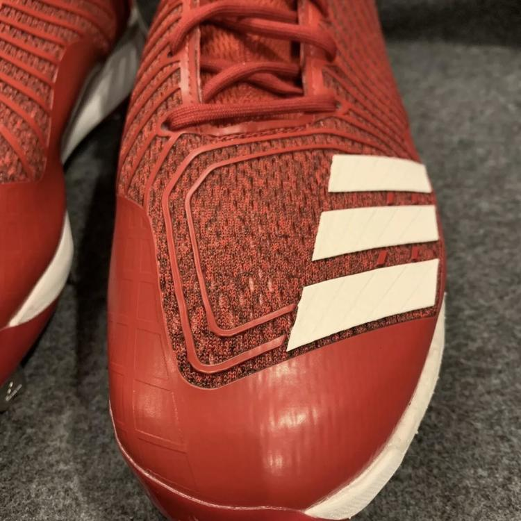new arrival 4eb42 23711 Adidas Mens Boost Icon 3 Red White Metal Cleats B39168 Size 11 | NEW ...
