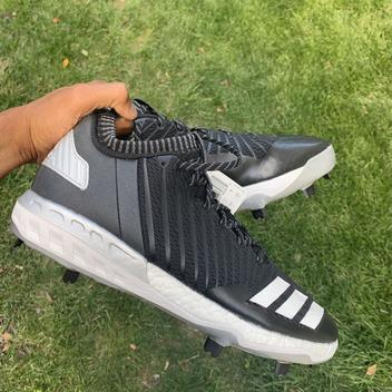 6b81cbef9604 Adidas Energy Boost Icon 2.0 sz 11.5 Navy Blue White Speckle Splatter  CG4319 | SOLD | Baseball Footwear | SidelineSwap