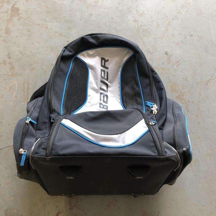 Bauer Backpack Wheel Hockey Bag