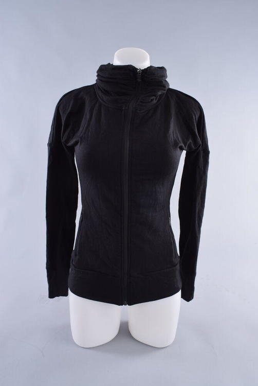 RedFrog Athletics The Commute Jacket Womens Small Black Merino Wool Cycling  Bike