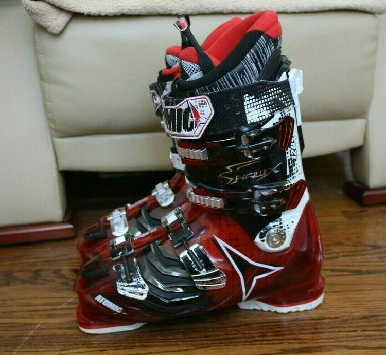 cheap for discount a04ae 7c15a ATOMIC HAWX 2.0 120 SKI BOOTS SIZE 29.5 MEN SIZE 11.5 $550