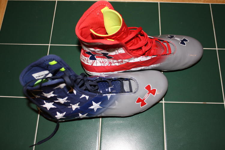 Under Armour Wounded Warrior/Stars and
