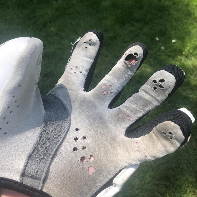 Maverik Used Maverick Rx3 Goalie Lacrosse Gloves
