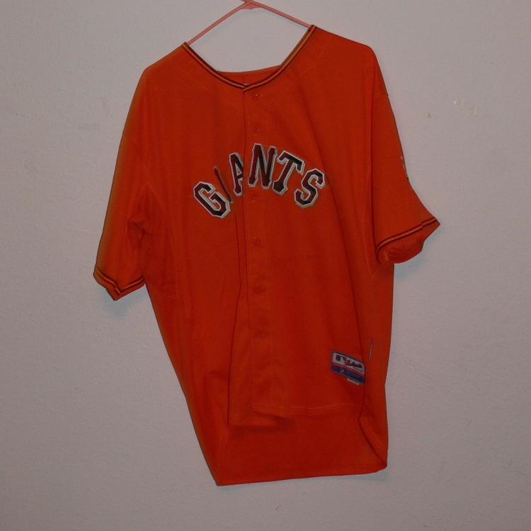 3f1f2b8b9 Baseball Jersey Buster Posey #28 Orange San Francisco Giants Mens Size 50.  Related Items