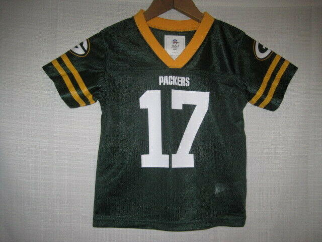 buy popular 309ac 8954b Green Bay Packers Davante Adams Football Jersey boys baby Toddler 4T NWOT  NEW