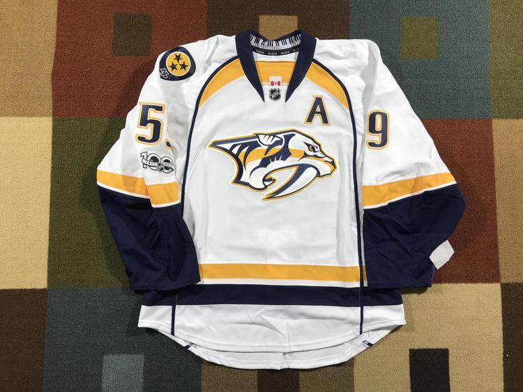 4def6aa41 Reebok Nashville Predators Authentic Edge 2.0 Roman Josi Jersey NHL100 NWT  - 54   NEW LISTING   Hockey Apparel, Jerseys & Socks   SidelineSwap