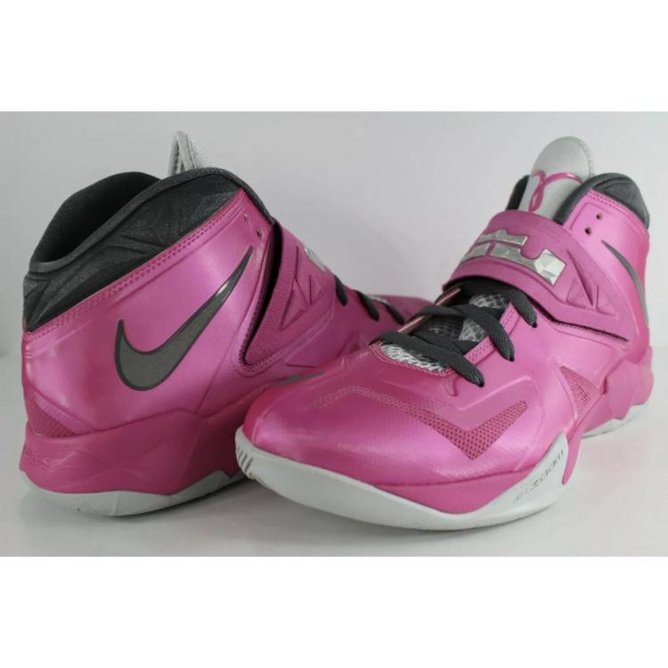 the best attitude 99d58 67521 Nike Lebron Zoom Soldier 7 Pink