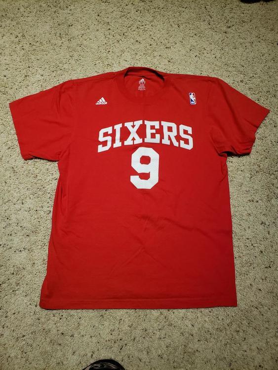 cheap for discount 18b19 12f88 Adidas Philadelphia 76ers Iguodala Jersey Shirt