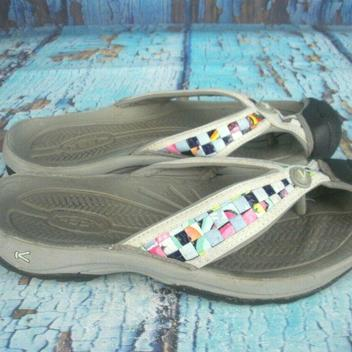0f3bbb2f05 Keen Waimea H2 Woven Rice Bag Flip Flop Sandals Thong Closed Toe Shoe Women's  9. Related Items