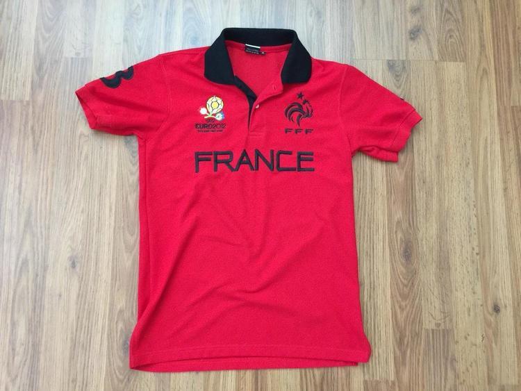 buy popular 235cd c96e6 France Euro 2012 French National Soccer Team Nike Football Sz M Polo Golf  Shirt!