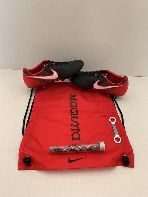 pretty nice discount shop ever popular MADE IN BOSNIA Nike Magista Opus ll SG-Pro ACC Men's Size 8.5 Cleats  Black/Red
