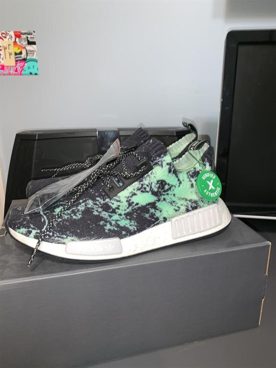 50058a68 Adidas (BRAND NEW) NMD pk marble (stockX) (size9) | Lacrosse Helmets ...