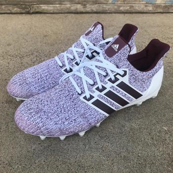 Adidas Texas A\u0026M UltraBOOST CLOUD WHITE