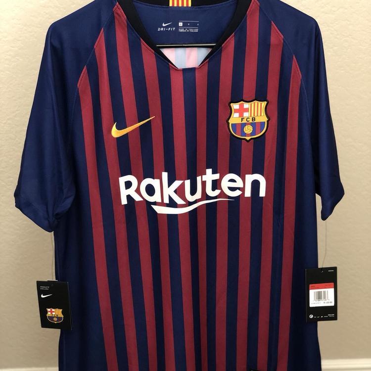 7b41be4803b Nike New FC Barcelona Andres Iniesta Jersey
