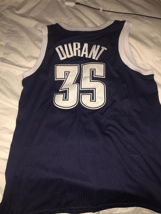 best loved 91774 8c8bf Kevin Durant Authentic Jersey
