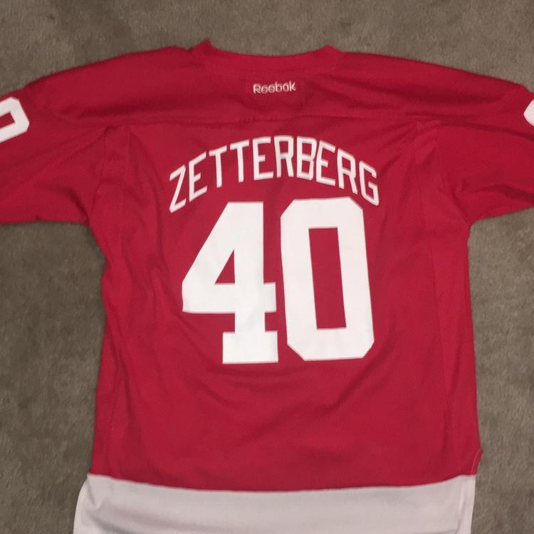 on sale f07ea 51686 (Great Condition!) Henrik Zetterberg Detroit Red Wings Jersey