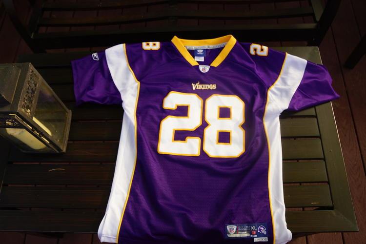 best website f1bd8 2ee00 Reebok Vintage Vikings Peterson Jersey Youth