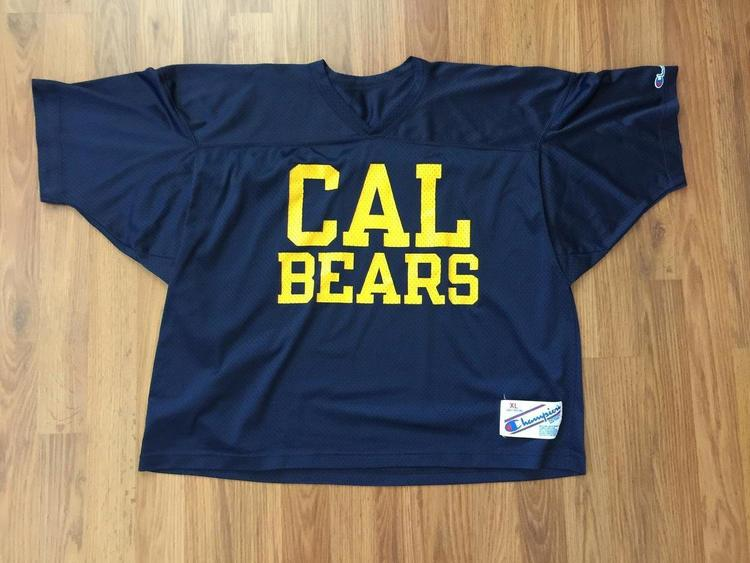 e48fd81d0bb Cal Bears NCAA SUPER AWESOME VINTAGE Champion Size XL 1980s Jersey! |  Football Apparel | SidelineSwap