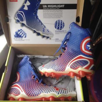 61f63eb3748 Under Armour Highlight Lacrosse Footwear