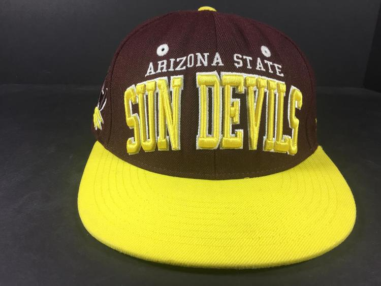 077105e1 ASU Sun Devils SUPER VINTAGE 1990S Arizona State University SNAPBACK Cap Hat!  | 15% OFF | Apparel Hats | SidelineSwap
