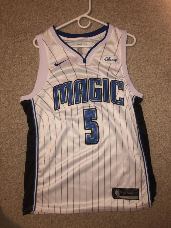 big sale 61904 6ff0d Orlando Magic Mo Bamba #5 Jersey