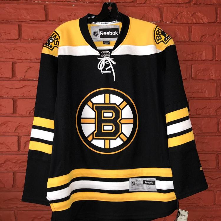 timeless design 94ec9 84770 AUTHENTIC Reebok Boston Bruins Jersey
