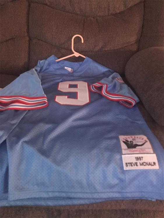 new styles 01c54 93a19 Steve McNair Tennessee Oilers
