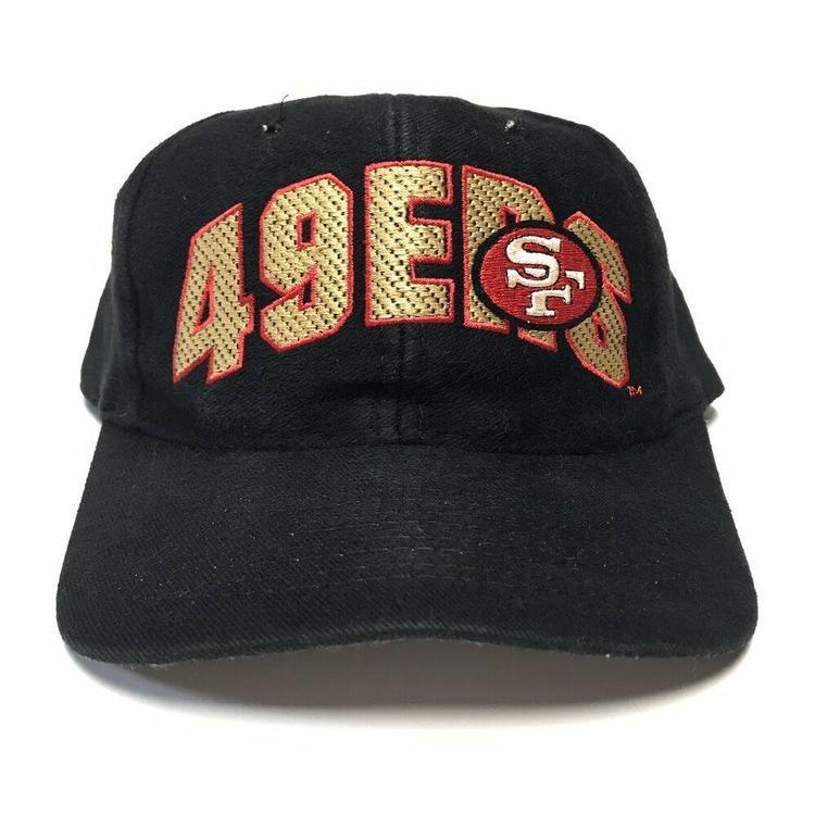 7399ce29 VTG San Francisco 49ers Wool Snapback Hat 1990s Drew Pearson Niners NFL  Football