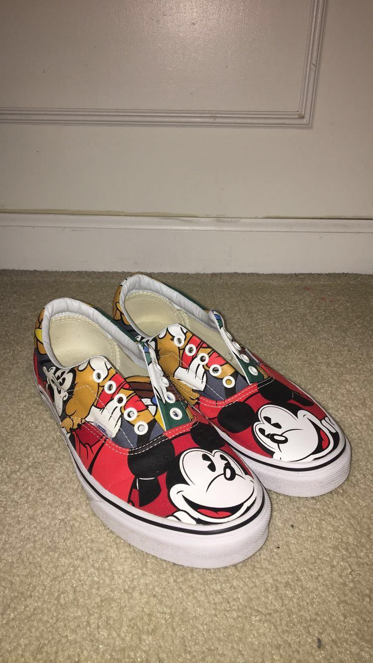 New Vans Mickey Mouse shoes | Lacrosse
