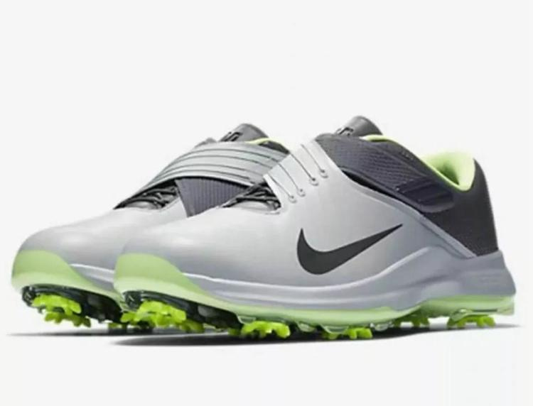 Nike Tiger Woods TW '17 Golf Shoes Men's Size 11 880955 002 Gray Goast Green