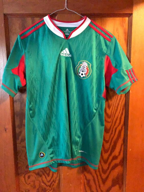 new arrival bce05 fd8b0 Authentic Youth World Cup Mexico Home Jersey