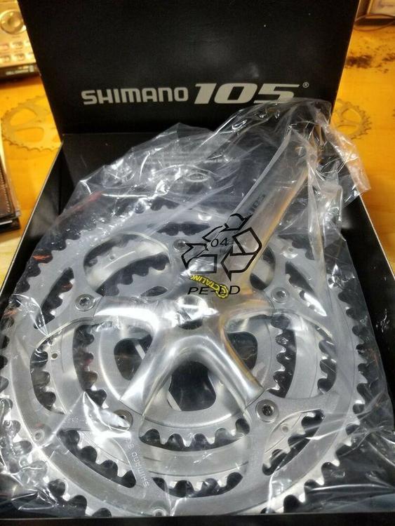 85c0ce7061e Shimano 105 Octalink Hollowtech Crankset NOS | Bikes Drive Train ...