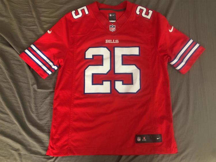 official photos 94097 ec01f Buffalo Bills LeSean McCoy NFL Color Rush Limited Jersey Large