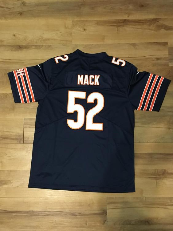 low priced 9d8ec ab936 Khahil Mack Chicago Bears Jersey Large
