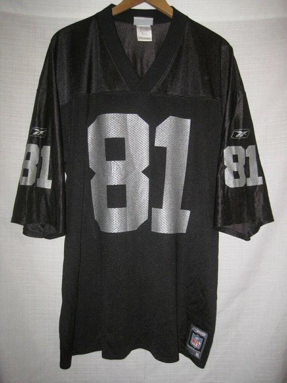 Reebok Vintage Oakland Raiders Tim Brown Jersey men's XL black