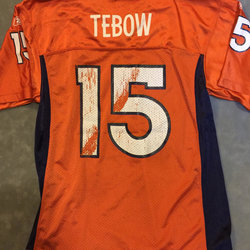 best authentic 8650d 4160b NFL RBK Jersey - Denver Bronco Tim Tebow Youth - Size YL