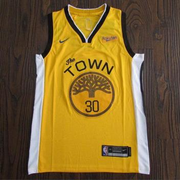 Golden State Warriors The Town Stephen Curry #30 NWT Men's Fully Stitched