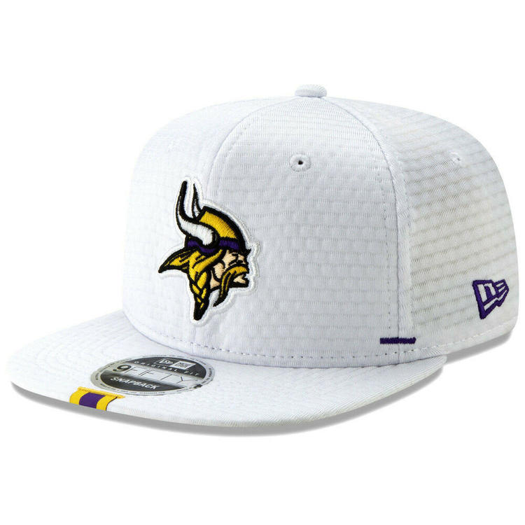 new styles 3224a 58ee7 2019 Minnesota Vikings New Era 9FIFTY Sideline Training Camp Snapback Hat  Cap. Related Items