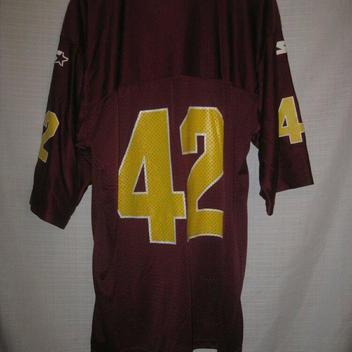 a156b09bb Vintage Arizona State Sun Devils Pat Tillman Football Jersey 48 maroon #42.  Related Items