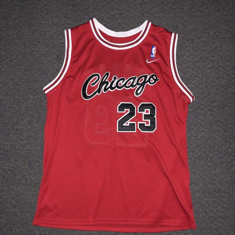 more photos 4e1fb 8520a Chicago Bulls Michael Jordan Nike Jersey Size Large