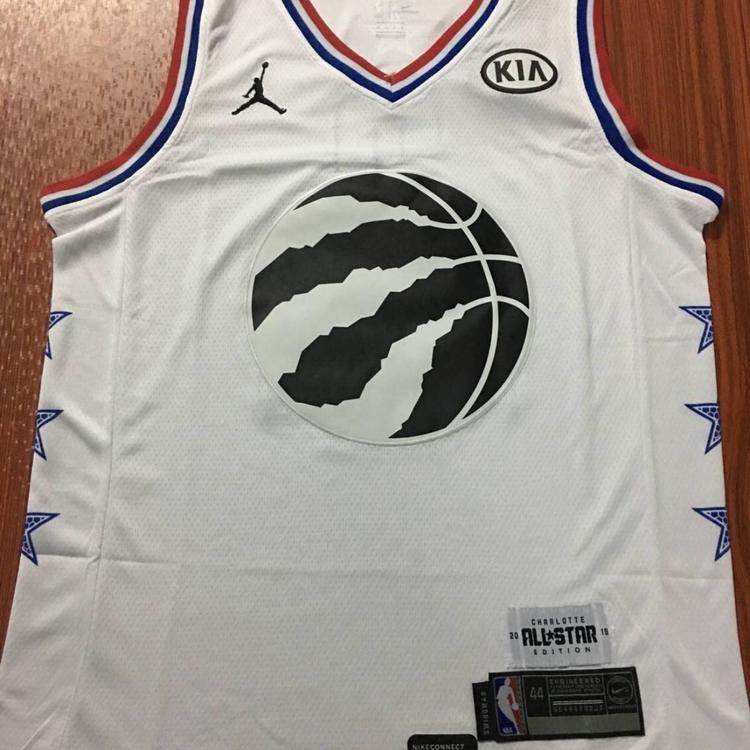 new styles 8a0aa 3b281 All Star Toronto Raptors Leonard #2 Fully Stitched Jersey