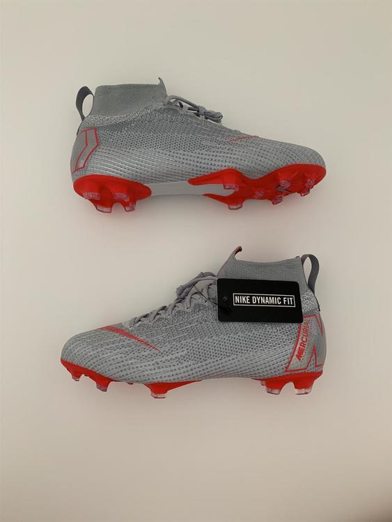 01a373163 Nike NEW! Sizes 5.5 + 6 Mercurial Superfly 6 Elite FG Gray Red ACC Cleats Jr  (AH7340-060) | Soccer Footwear | SidelineSwap